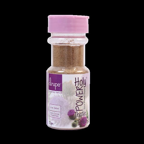 Drupe milk thistle powder